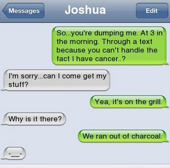 #2 Funniest Break Up Teps, Hilarious Comebacks & Trolling Exes