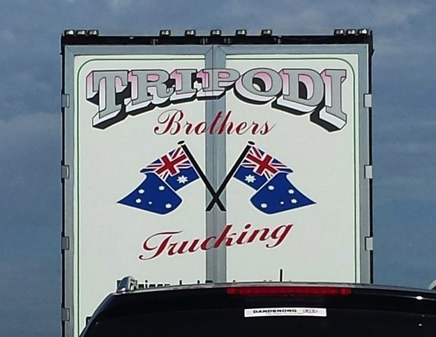 Tripoli Brothers Fucking Trucking ~ You have such a dirty mind