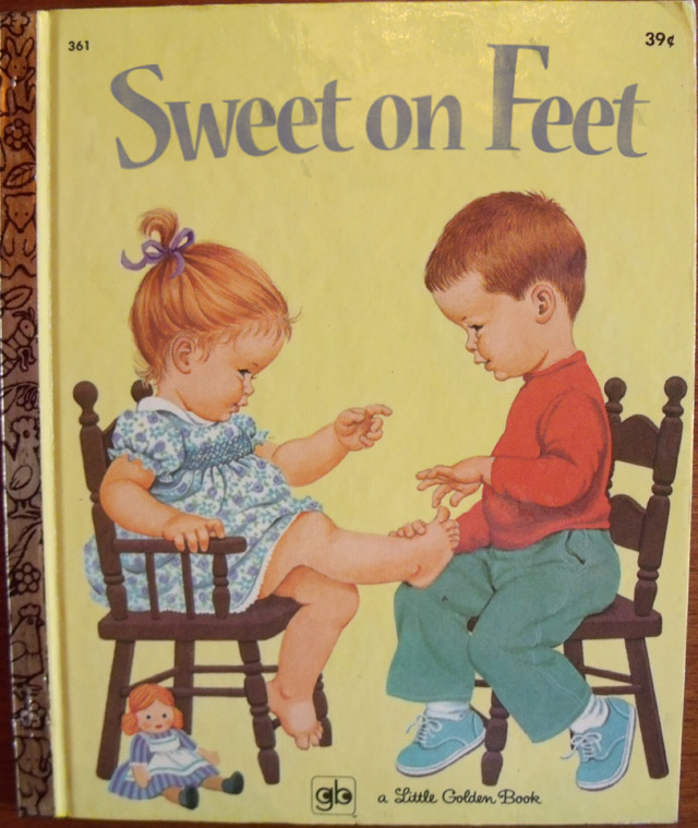Sweet on Feet ~ Classic Inappropriate Bad Childrens Books