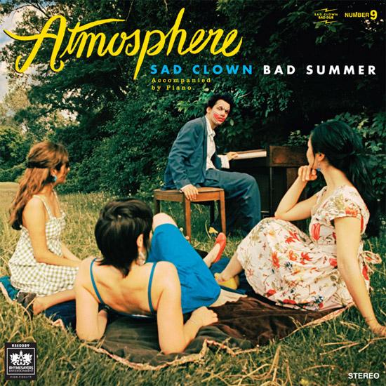 Atmosphere Sad Clown Bad Summer ~ Funny, Creepy Bad Album Cover Art