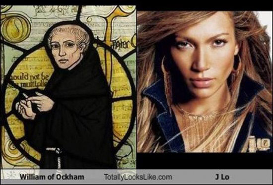Celebrities that look like Historical Figures ~ J Lo William of Ockham