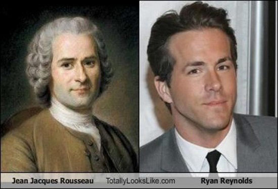 Celebrities that look like Historical Figures ~ Ryan Reynolds