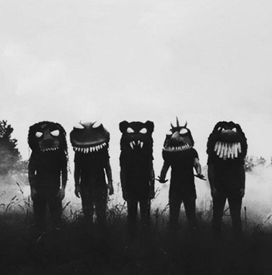 Creepy Old Vintage Photos~ monster halloween costumes