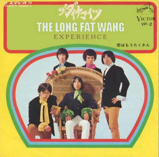 The Long Fat Wang Experience ~ Funny, Creepy Bad Album Cover Art