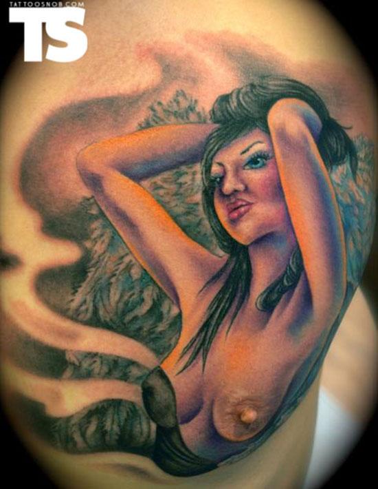 mermaid Best worst nipple tattoos