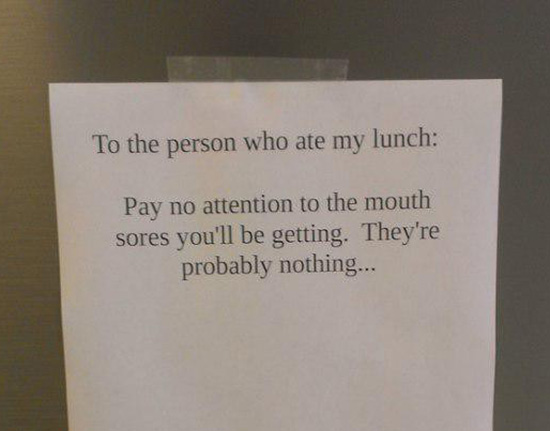 29 Funny Office Notes From Passive Aggressive Coworkers