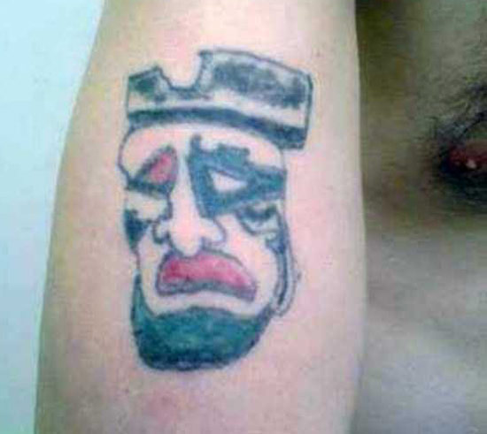 Terrible pirate ~The Ugliest Worst Bad Tattoos