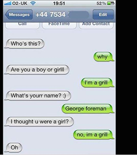 Abort! 29 Funny Texts Messages Sent to the Wrong Person