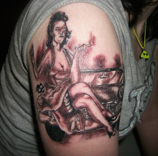 bad pinup worst tattoos ever