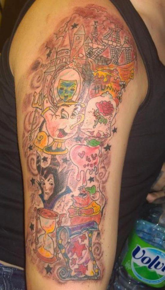 terrible disney characters worst bad tattoos fails