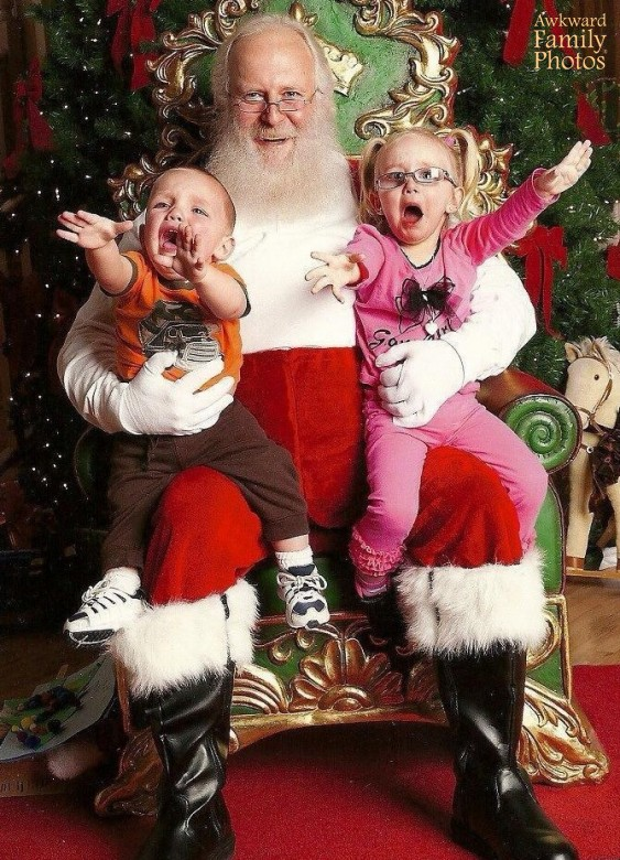 33 Awkward Creepy Santas Scary Laps From Hell Team