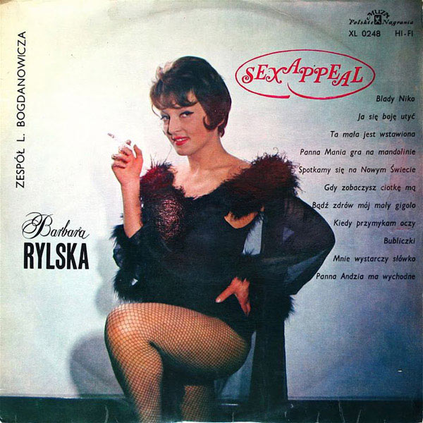 20 of the Worst Bad Album Covers~ Barbar Rylska, sex appeal