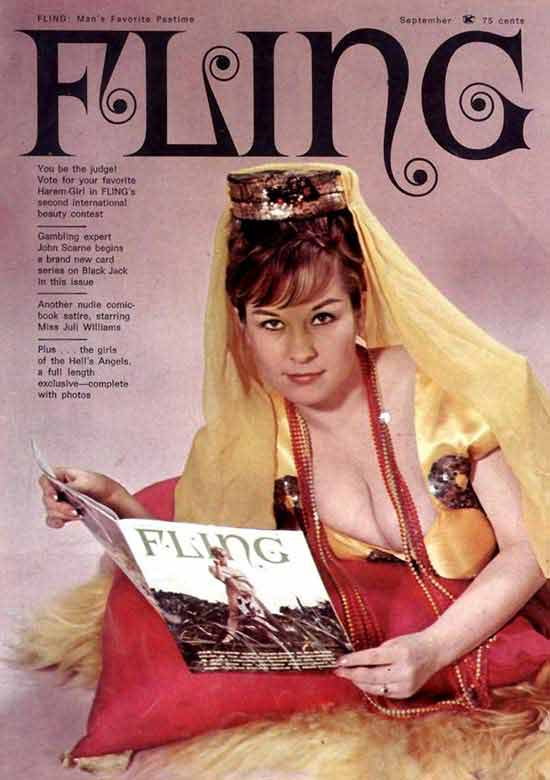 33 Funny Pics of the Day ~ vintage pulp me's magazine Fling