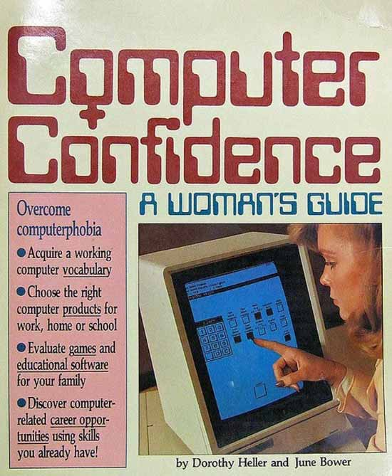 33 Funny Random Pics ~ vintage magazine computer confidence a woman's guide