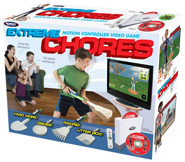 Prank Pack Funny Fake Gift Boxes ~ Extreme Chores Video Game