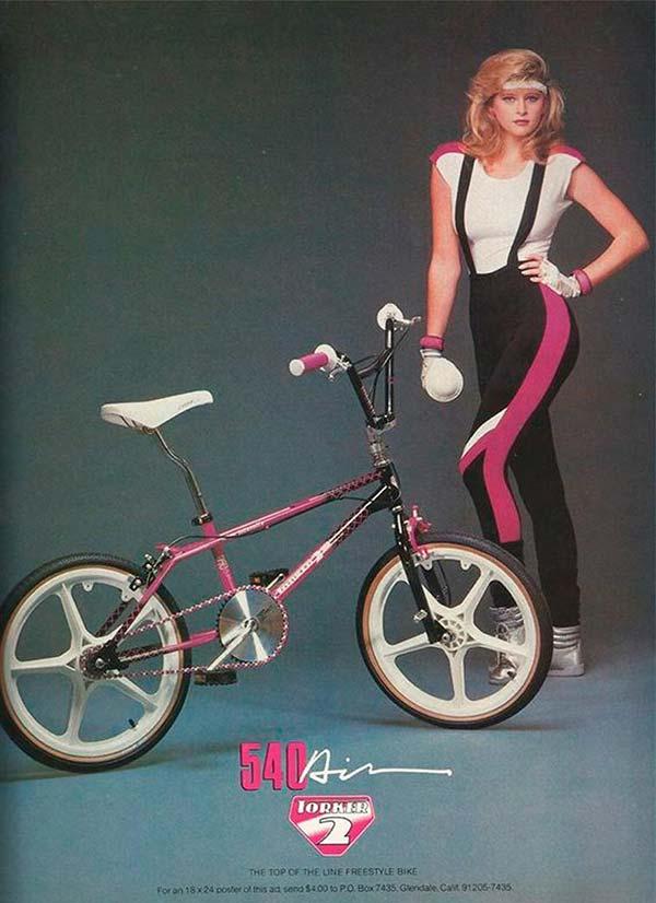 540 air bike vintage ad 80s 90s