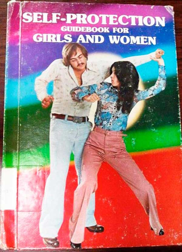 Vintage self-help book: Self Protection Guide for Girls & Women