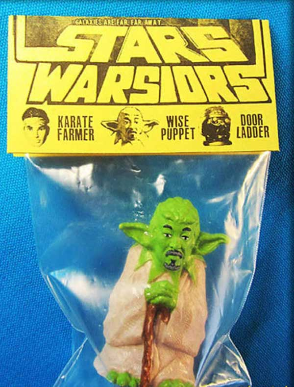 Funny Pics & Memes ~ yoda star wars toy knock off, funky goatee
