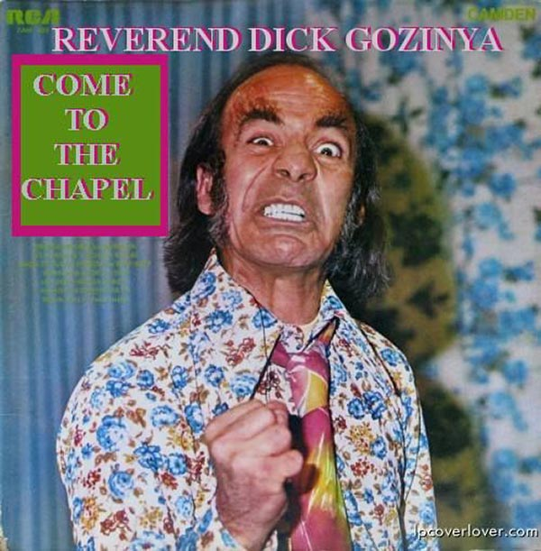 Come experience Reverend Dick's sexual frustration!... ...The Worst Album Covers Ever!
