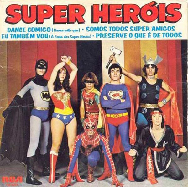 Super Heroes ...Worst Album Covers Ever!
