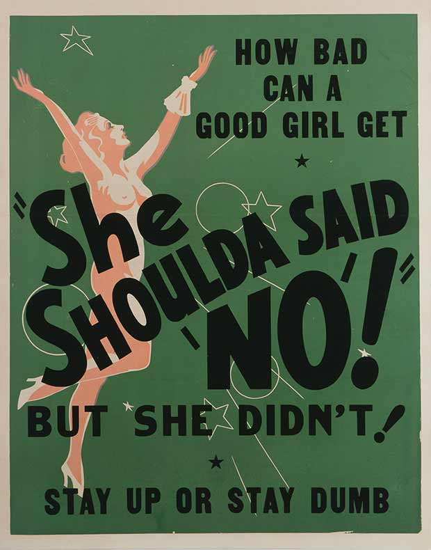 She Shoulda Said No ~ 13 anti-reefer movie posters from the 1930's & 40's. Propaganda to fight marijuana use in teens and adults