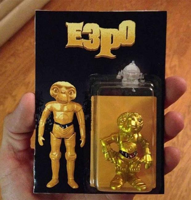 27 You Had One Job Fails ~ toy E3PO E.T., Sart Wars