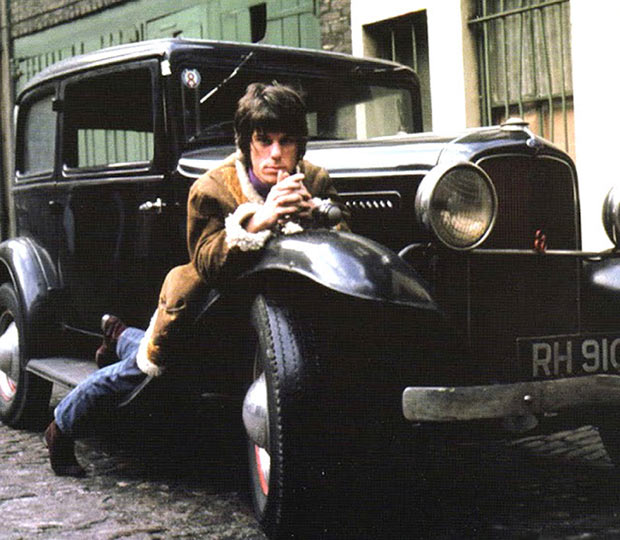 23 Rock Star & Their Classic Cars ~ Jeff Beck and his Ford Deuce Coupe