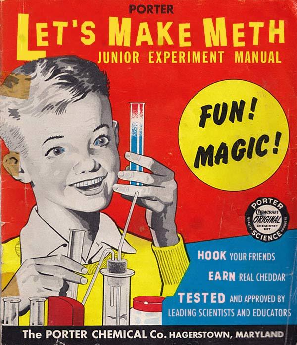 35 Funny Pics ~ vintage kids chemistry kit, let's make meth