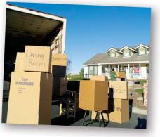 Senior Downsizing - Moving Process