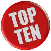 Button rot rund TOP TEN