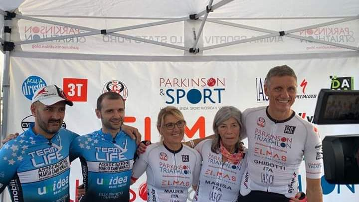 La nostra squadra: (da sinistra)Ersilio, Claudio I. ,