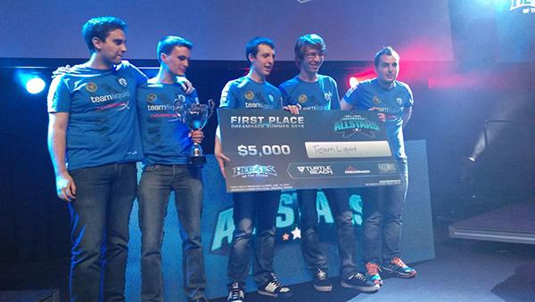 LiquidHeroes Win All Stars At DH Summer 2015 Team