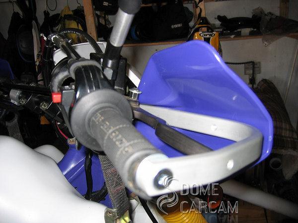 Blue 7 8 Handlebar Hand Guards For Yamaha Tt Ttr Tw Wr Xt