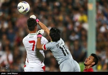 Iran vs. Thailand Shojaei