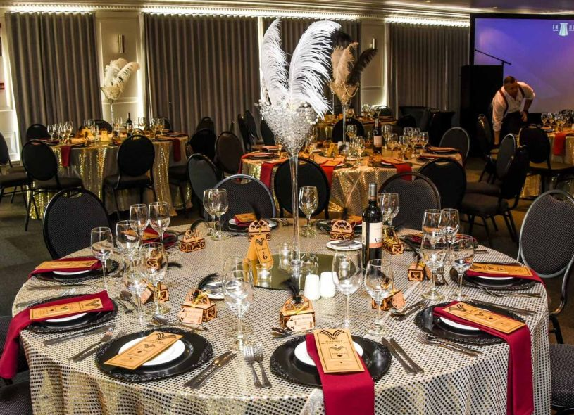 Great Gatsby Themed Dinner Function
