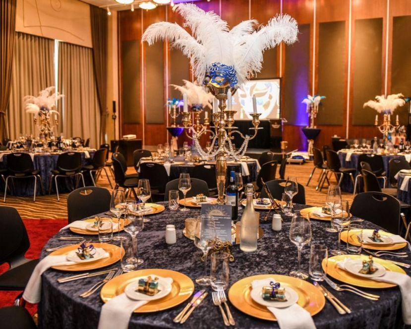 Elegant Masked Ball Year End Function, Cape Town