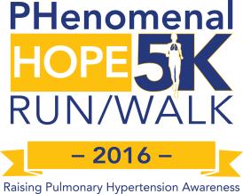 Logo for the 2015 Phenomenal Hope 5K