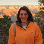 Diane at the Grand Canyon
