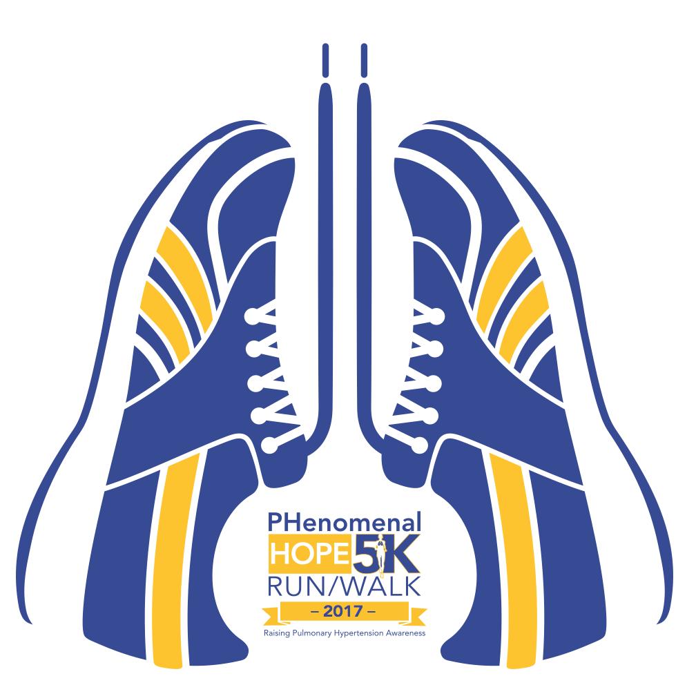 2017 PH5K T-Shirt Logo
