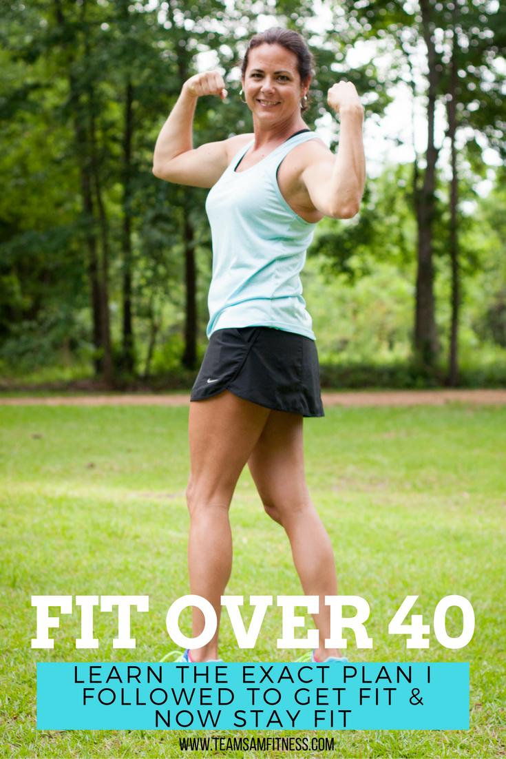 Get fit over 40 ~ TeamSam Fitness