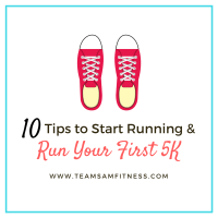 Run your first 5k with these 10 tips to help you start running.