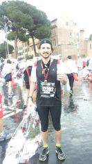 Giacomo alla Maratona di Roma