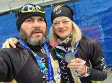 NYHalf Finishers: Ironfrankie e Carla