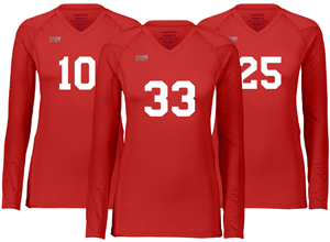 Download View Womens Volleyball Kit With V-Neck Jersey Mockup Front ...