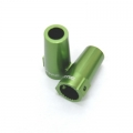 CNC Machined Alum. Rear Lock Outs (1 pair) for Axial Wraith (Green)