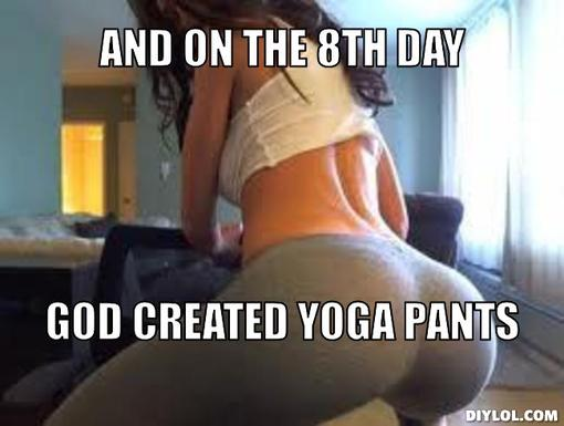The Yoga Pants Effect