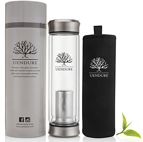 UENDURE TEA & COLD BREW COFFEE INFUSER BOTTLE