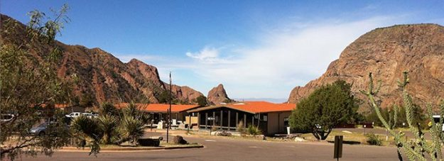 Photograph of Chisos Basin Visitor Center