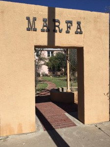 photo of Marker of Marfa