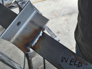 photo of a nice weld